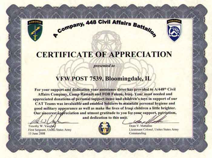 Thank You Plaque Wording Sample Appreciation Certificate Sample – Thank You Certificate Wording